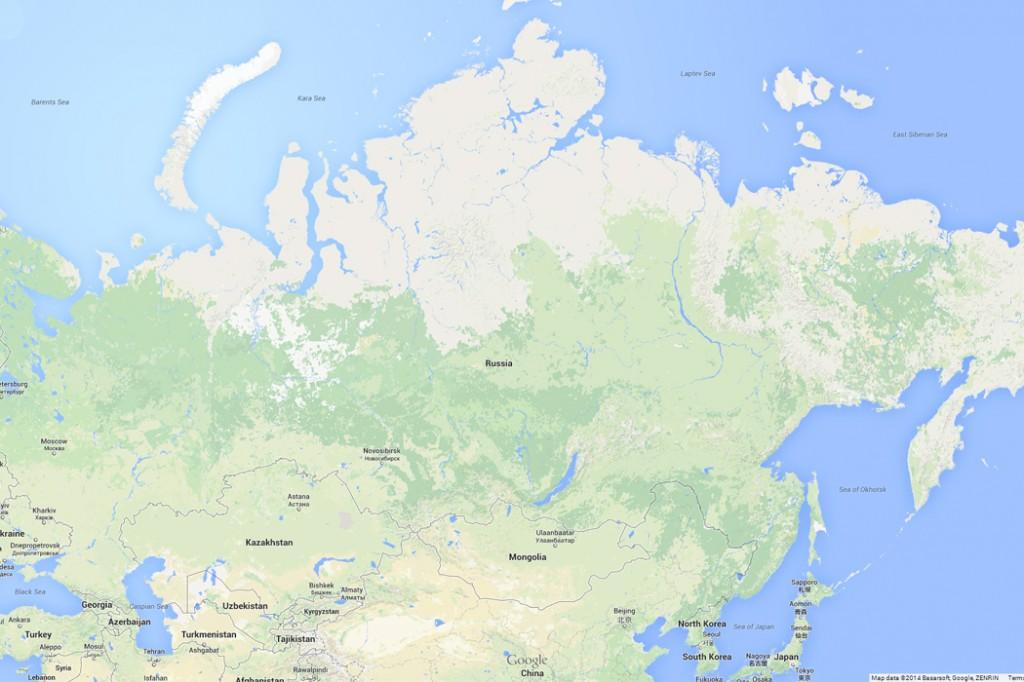 Russia map david satter