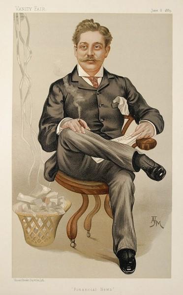 Harry Marks in Vanity Fair June 8, 1889