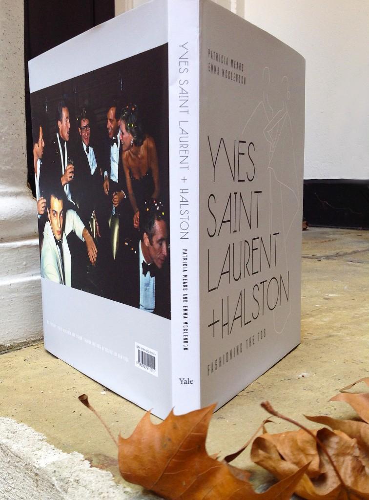 Yves Saint Laurent and Halston
