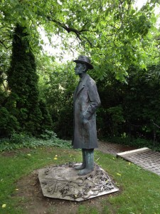 Statue at Bartok's House