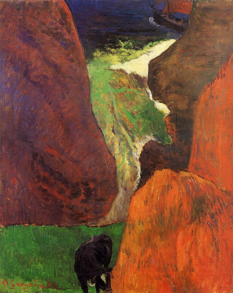 Seascape by Pauld Gauguin, 1888