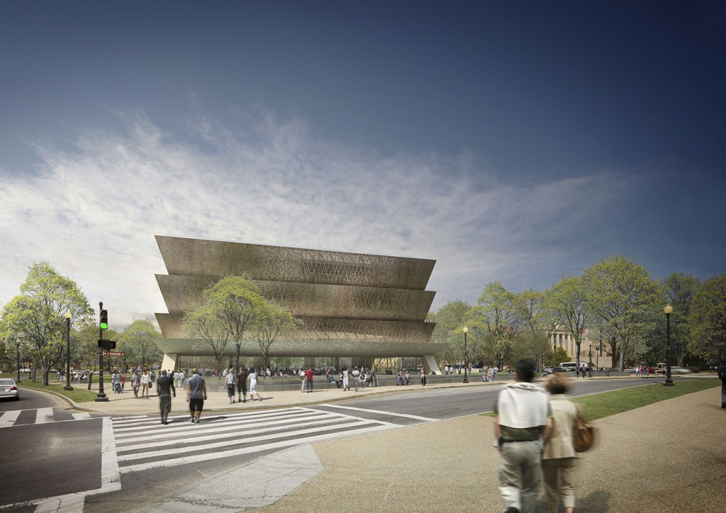 Adjaye Associates. Smithsonian National Museum of African American History and Culture, Washington DC, current. Courtesy of Adjaye Associates.
