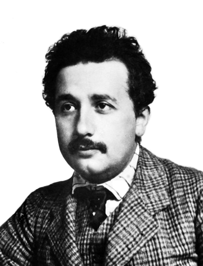 Albert Einstein in 1904/5 by Lucien Chavan