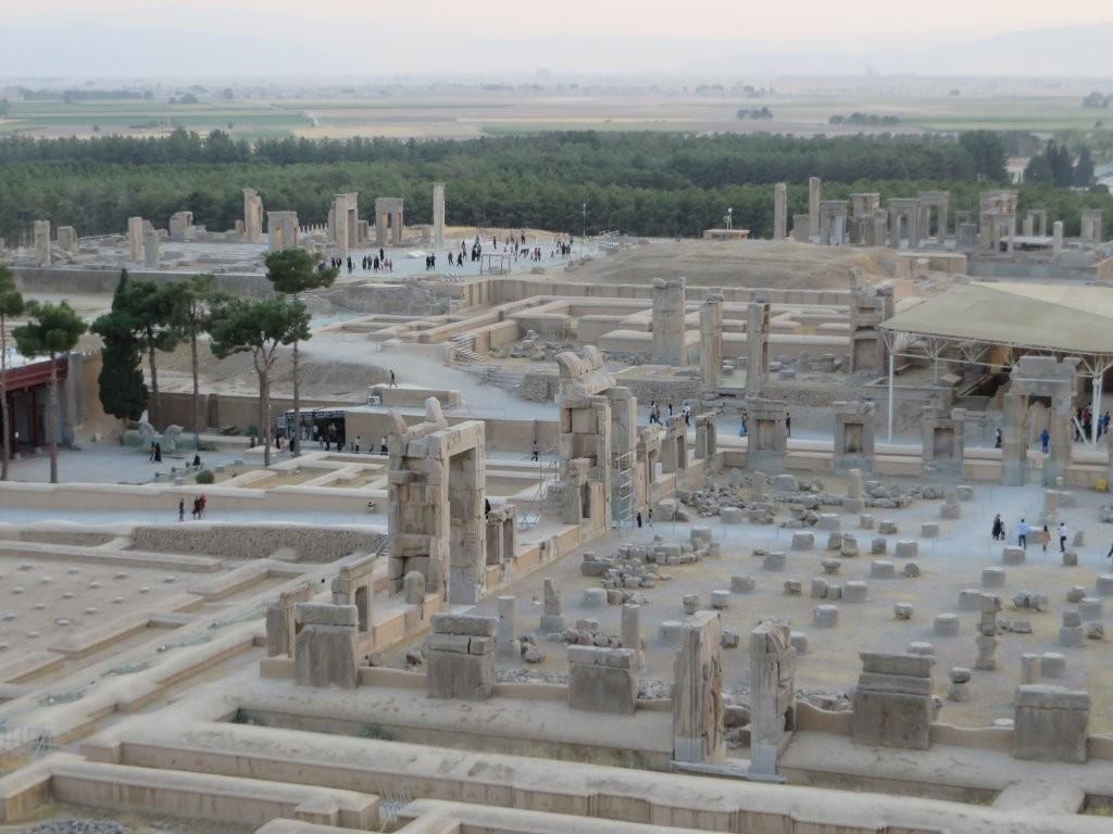 General view of Persepolis