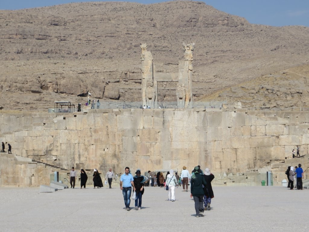 Approach to Persepolis