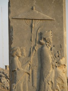 Xerxes entering his palace by Richard Stoneman
