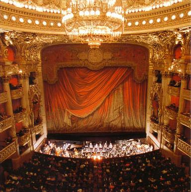 The Paris Opera Interior