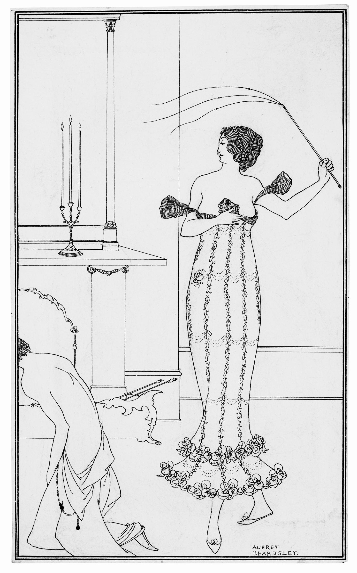 aubrey beardsley s feminism an essay by linda gertner zatlinyale aubrey beardsley