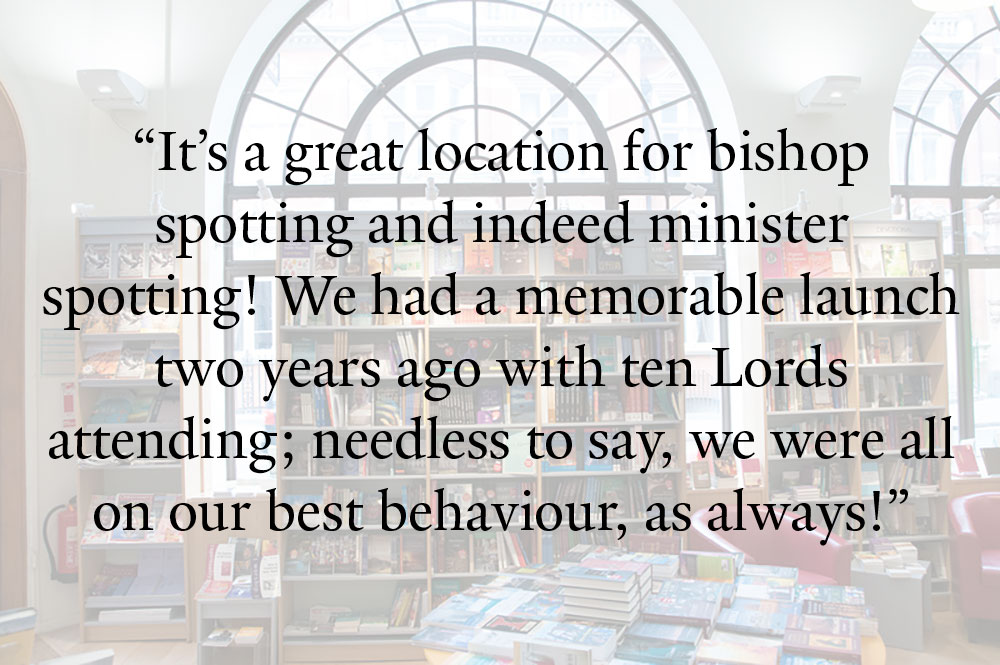 Church House Bookshop Quote