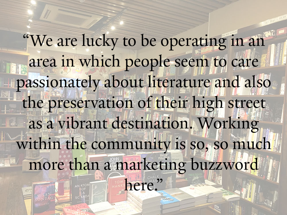 West End Lane Books Quote