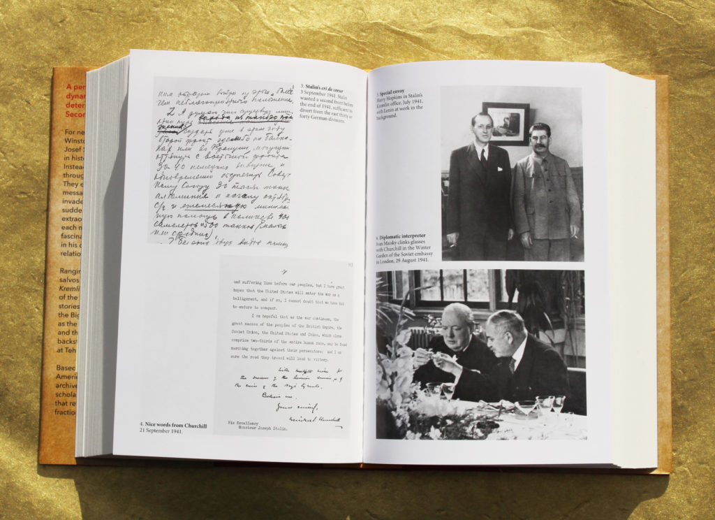 Image from the pages of the book, featuring four images detailed int he caption