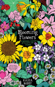 blooming flowers book cover